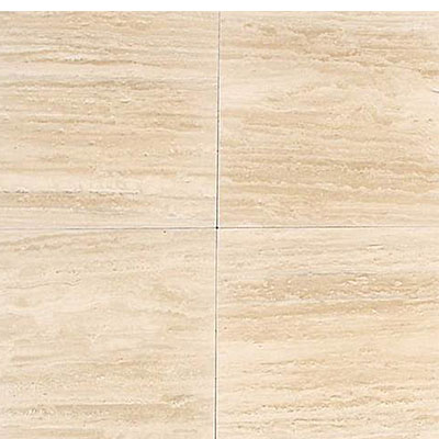 Daltile Travertine Natural Stone Polished 12 x 12 Torreon Vein Cut