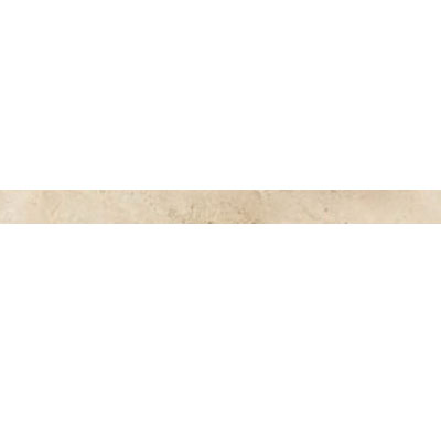 Daltile Travertine Natural Stone Polished Pencil Rail Baja Cream T720 112PR1L