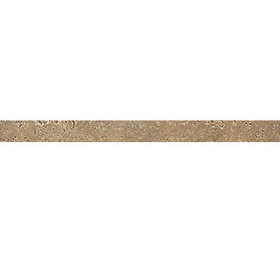 Daltile Travertine Natural Stone Polished Pencil Rail Noce T311 112PR1L