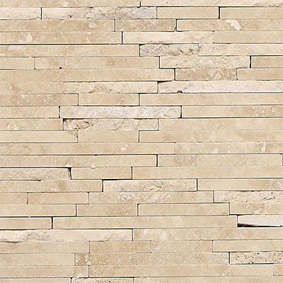 Daltile Travertine Natural Stone Mosaic Random Length Torreon T711