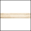 Daltile Tumbled Natural Stone 6 x 6 Chair Rail Sand (TS01)