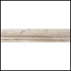 Daltile Tumbled Natural Stone 6 x 6 Chair Rail Baja Cream (TS50)