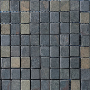 Daltile Indian Multicolor Mosaic 1 x 1 Indian Multicolor TS70 11MS1P