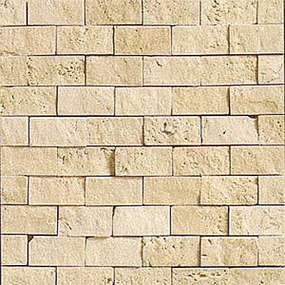Daltile Tumbled Natural Stone Split Face Mosaic Torreon T71112SF1S