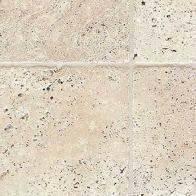 Daltile Tumbled Stone Pavers Mediterranean Ivory TS61