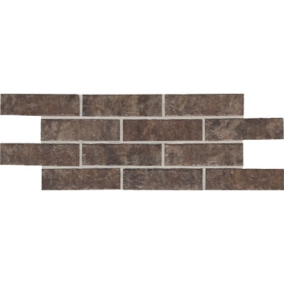 Daltile Union Square 2 x 8 Brick Cobble Brown US04 281P