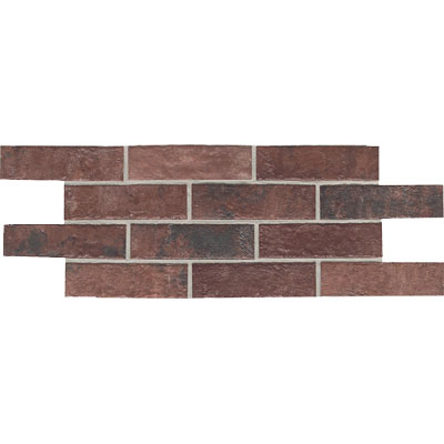 Daltile Union Square 4 x 8 Paver Courtyard Red US03 481P