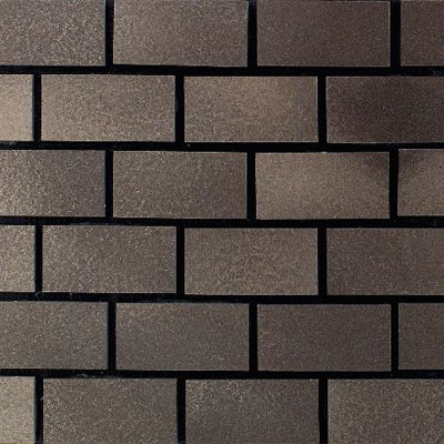 Daltile Urban Metals Brick Joint Bronze Brick Joint UM02 12BJMS1P2