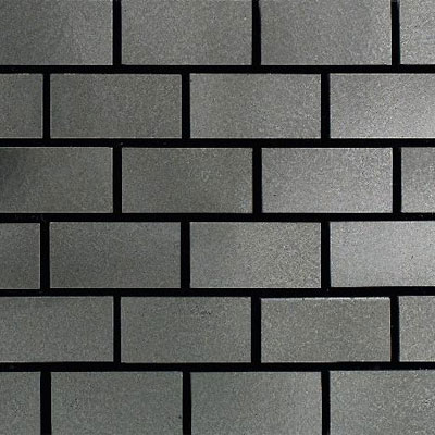Daltile Urban Metals Brick Joint Stainless Brick Joint UM01 12BJMS1P2