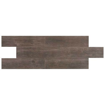 Daltile Willow Bend 6 X 24 Smoky Brown