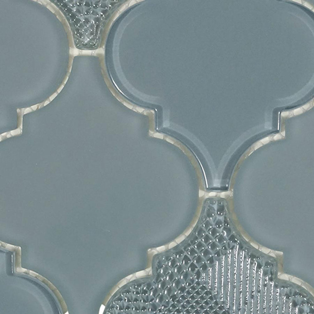 Diamond Tech Glass Captiva Arabesque Mosaic Evening Bay