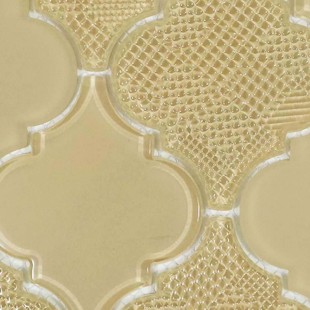 Diamond Tech Glass Captiva Arabesque Mosaic Sea Oats