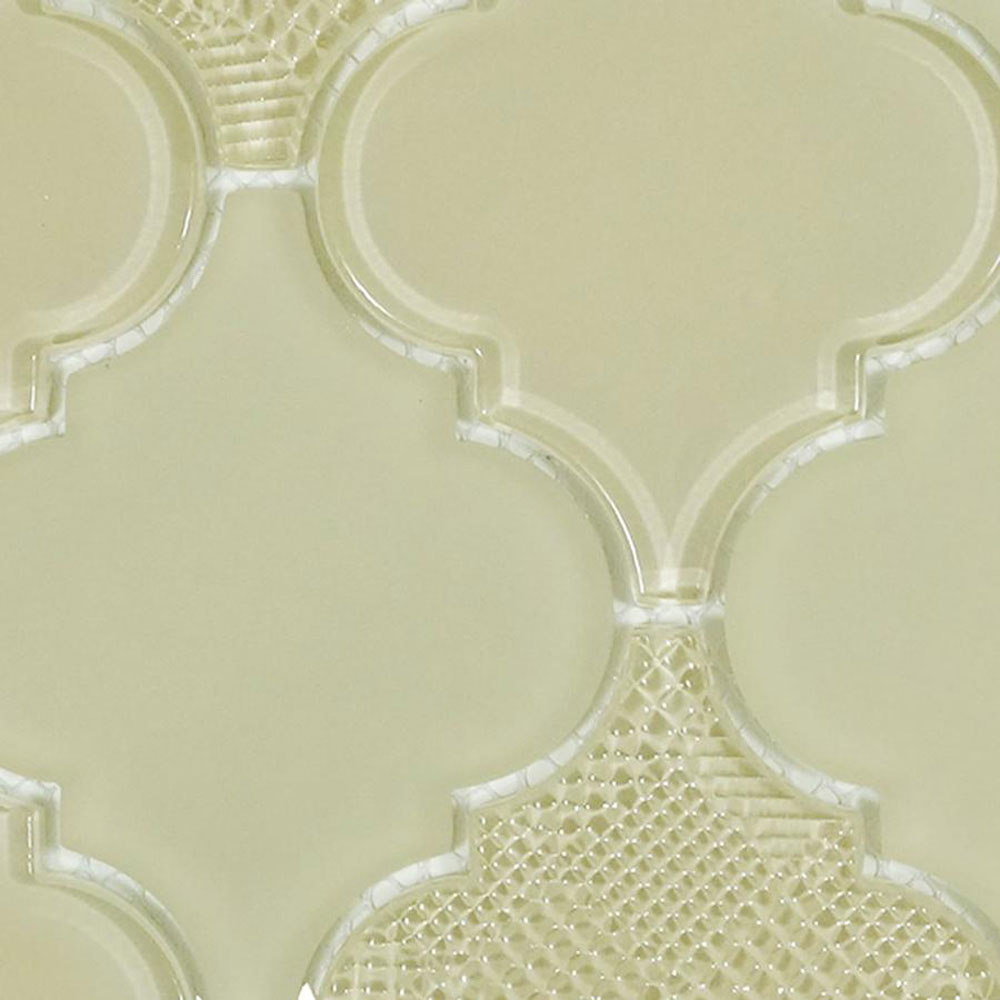 Diamond Tech Glass Captiva Arabesque Mosaic Shoreline