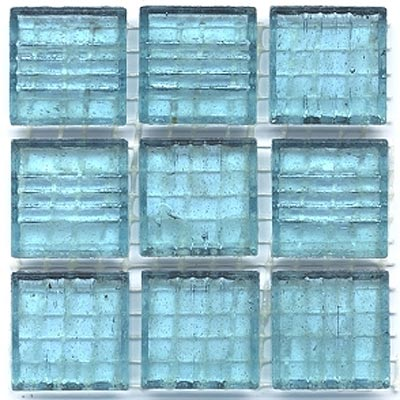 Diamond Tech Glass Mosaic Glass Series - Clear Bottle Blue T242CL