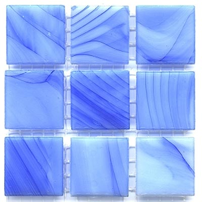 Diamond Tech Glass Mosaic Glass Series - Cloudy Blue T231C