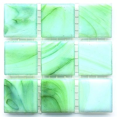 Diamond Tech Glass Mosaic Glass Series - Cloudy Green T236C