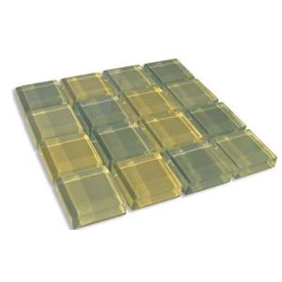 Diamond Tech Glass Dimension Mosaic 1 x 1 Mixes Meadow T508