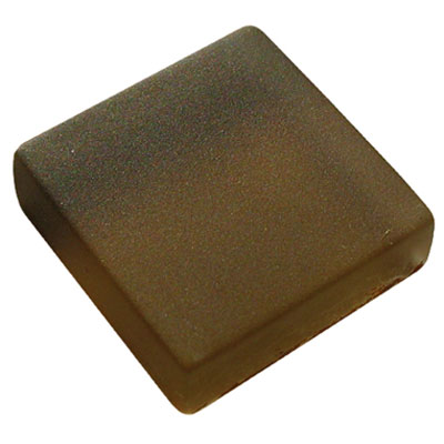 Diamond Tech Glass Frosted Dimension Mosaic 1 x 2 Frosted Brown T466F