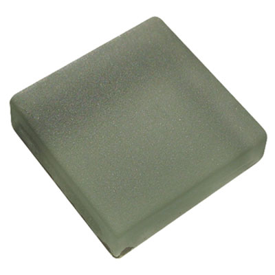 Diamond Tech Glass Frosted Dimension Mosaic 1 x 2 Frosted Gray T468F