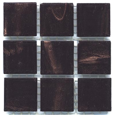 Diamond Tech Glass Mosaic Glass Series - Gold Veined Dark Amber T207G