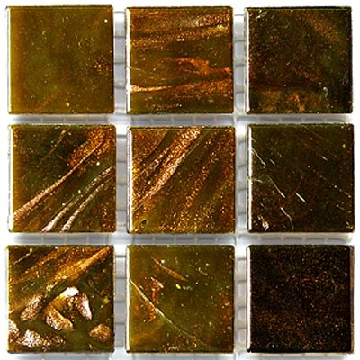 Diamond Tech Glass Mosaic Glass Series - Gold Veined Gold T201G