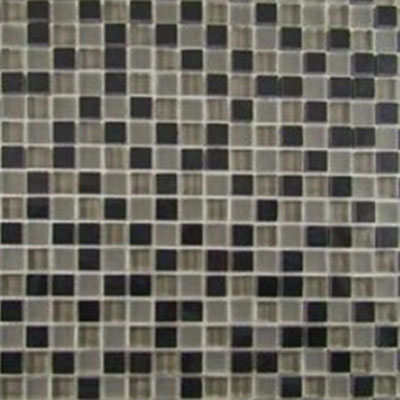Diamond Tech Glass Impact 5/8 Glass & Stone Mosaic Nocturne