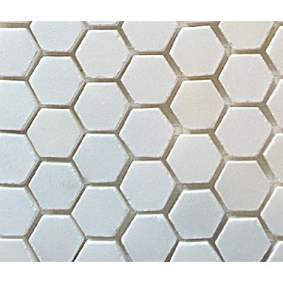 Diamond Tech Glass Stone Series Hexagon Polished Mosaic China White T740