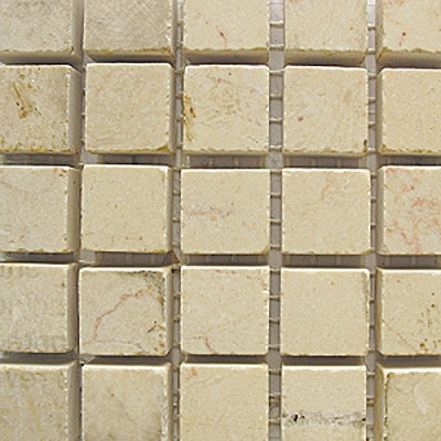 Diamond Tech Glass Stone Series 5/8 Honed Mosaic Crema Marfil T705