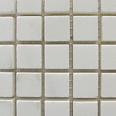 Diamond Tech Glass Marble Series 5/8 Honed Mosaic White Statuary T716