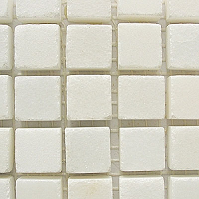 Diamond Tech Glass Stone Series 5/8 Polished Mosaic China White T702
