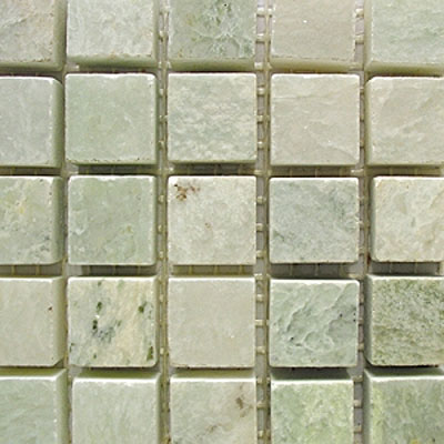 Diamond Tech Glass Stone Series 5/8 Polished Mosaic Ming Green T711