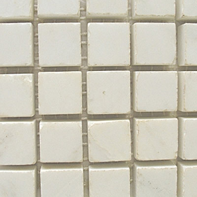 Diamond Tech Glass Stone Series 5/8 Polished Mosaic White Statuary T715