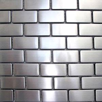 Diamond Tech Glass Metal Series Mosaic Brick TML13