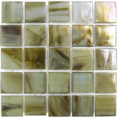 Diamond Tech Glass Platinum Mosaic Series Celadon Swirl T408