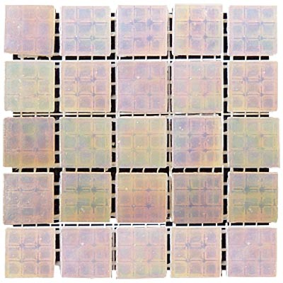 Diamond Tech Glass Platinum Mosaic Series Champagne Mist T406