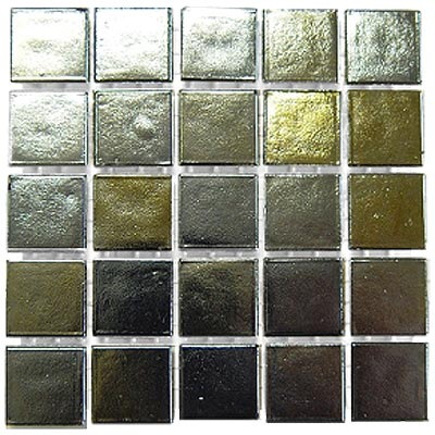 Diamond Tech Glass Platinum Mosaic Series Gold & Silver T416