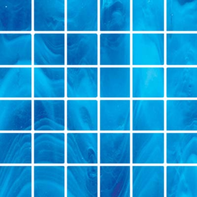 Diamond Tech Glass Stained Glass Mosaic Aqua T109-2