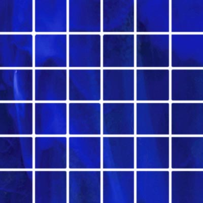 Diamond Tech Glass Stained Glass Mosaic Bright Blue T108B-2