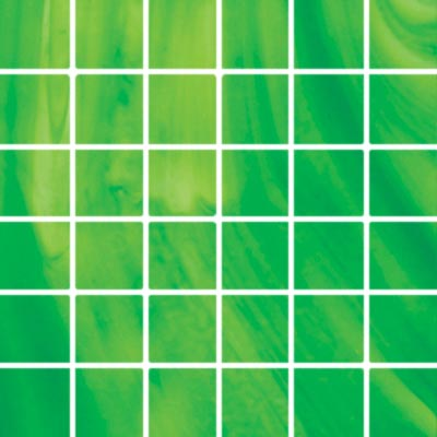 Diamond Tech Glass Stained Glass Mosaic Bright Green T113B-2
