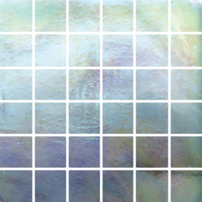 Diamond Tech Glass Stained Glass Mosaic Dove Iridescent T119L-2