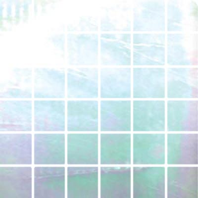 Diamond Tech Glass Stained Glass Mosaic Snow Iridescent T102L-2