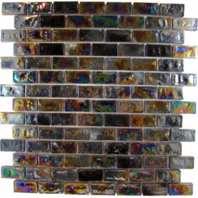 Diamond Tech Glass Vista 3/4 x 1 5/8 Iridescent Mosaic Cocoon TV416