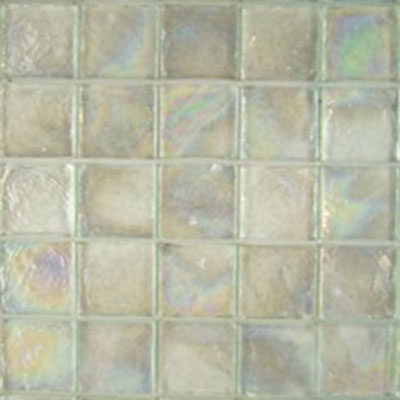 Diamond Tech Glass Vista 1 5/8 x 1 5/8 Iridescent Mosaic Restful