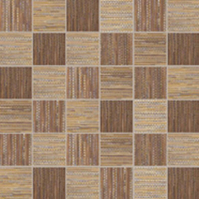 Dom Ceramiche Canvas 13 x 13 Mosaic Red / Gold P13-CAREGO
