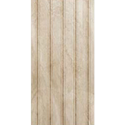 Eleganza Tiles Digiwall 9 x 18 Lignes Deco Polished Beige