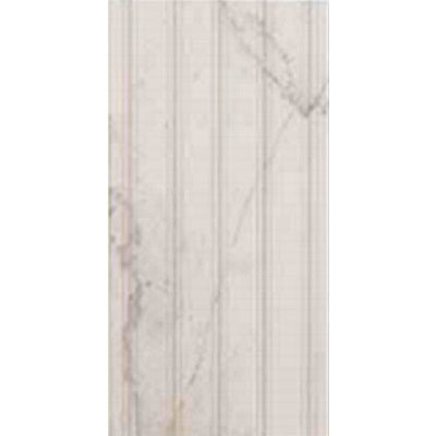 Eleganza Tiles Digiwall 9 x 18 Lignes Deco Polished Blanc