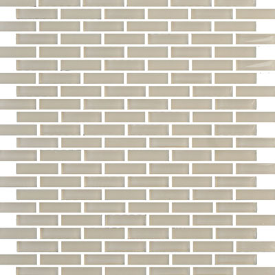 Eleganza Tiles Vetro Staggered Brick Warm Beige Staggered Brick GLV3803
