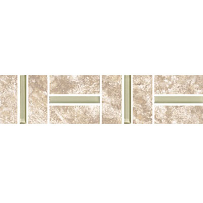 Eleganza Tiles Provenza Polished Wall Listello Beige