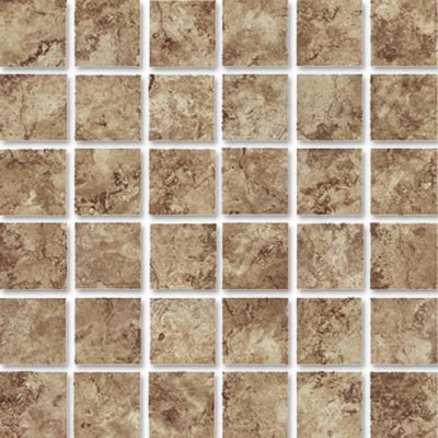 Eleganza Tiles Travertine 2 x2 Mosaic Mocha