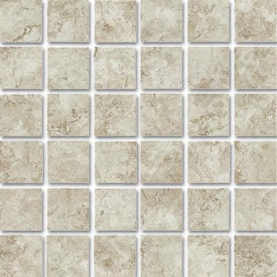 Eleganza Tiles Travertine 2 x2 Mosaic Ocre
